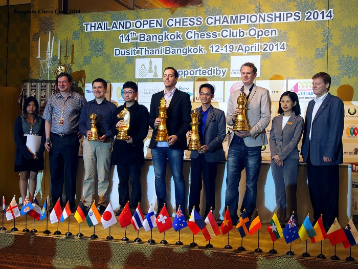Bangkok Chess Club 2014 Champions