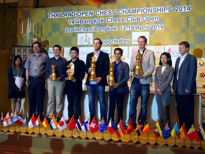 Bangkok Chess Club 2014 Champions