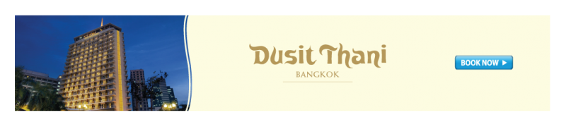 Direct booking at the 5-star Dusit Thani Bangkok