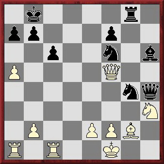 Position before Sriram's final (winning) move