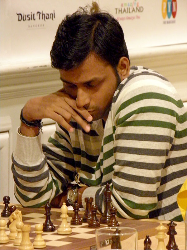 Indian IM Ventakesh is the surprise leader after 5 rounds