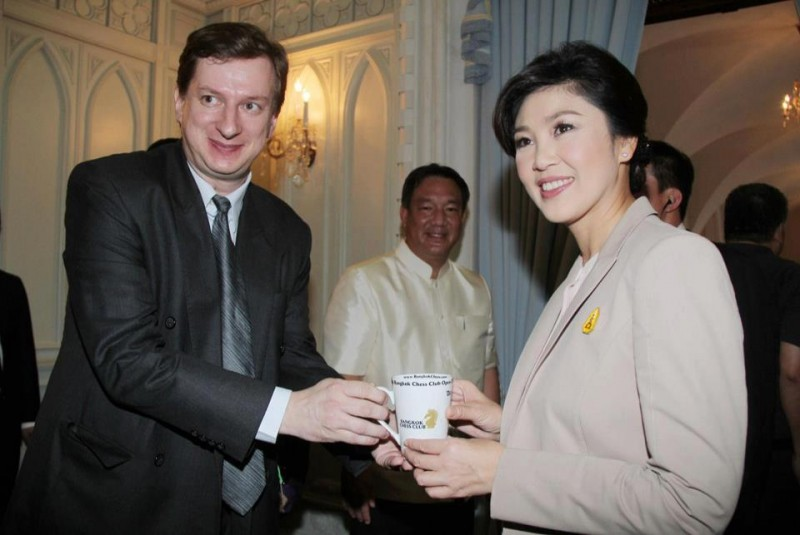 Kai Tuorila meets Prime Minister Yingluck Shinawatra and Deputy PM/Finance Minister Kittirat