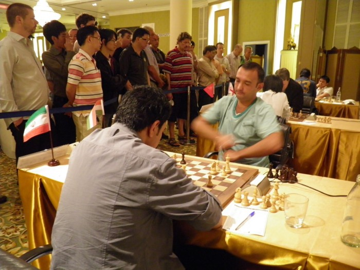 Competitors at the 12th Bangkok Chess Club Open 2012