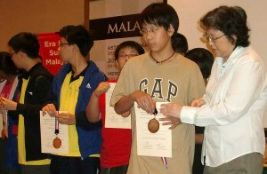 Suvich wins Malaysian Open rapid in under 14 category