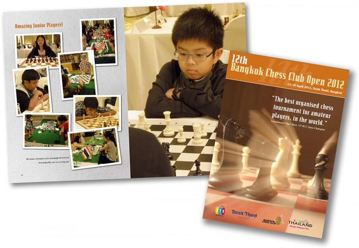 12th Bangkok Chess Club Open 2012 Tournament Journal